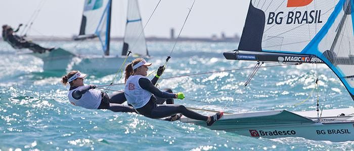 Martine e Kahena ganham ouro na Copa do Mundo de Weymouth   Federação Náutica de Brasília
