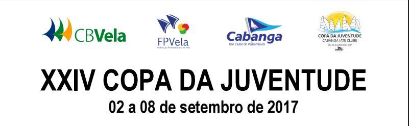 Aviso de Regata da Copa da Juventude 2017 – Recife