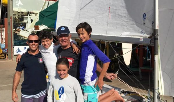Torneio de Snipe promove encontro de gerações no ICB