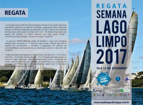 Regata Semana Lago Limpo 2017