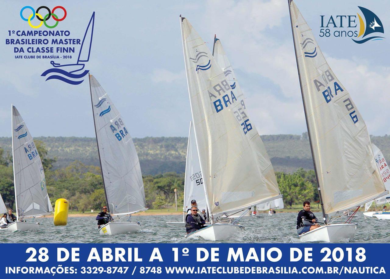 Iate Clube se prepara para receber o 1º Campeonato Brasileiro Master da Classe Finn