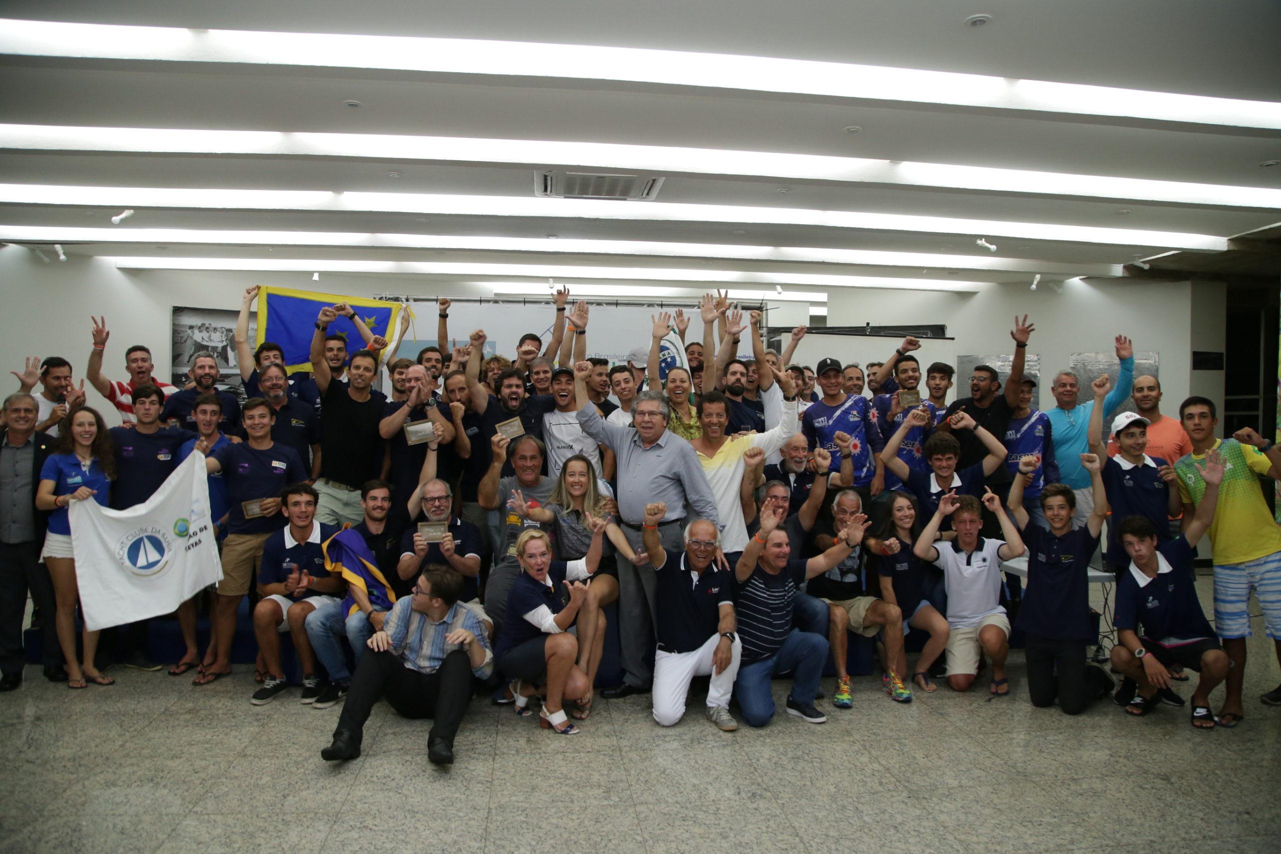 Iate Clube realiza o Campeonato Brasileiro da Classe Laser 2020